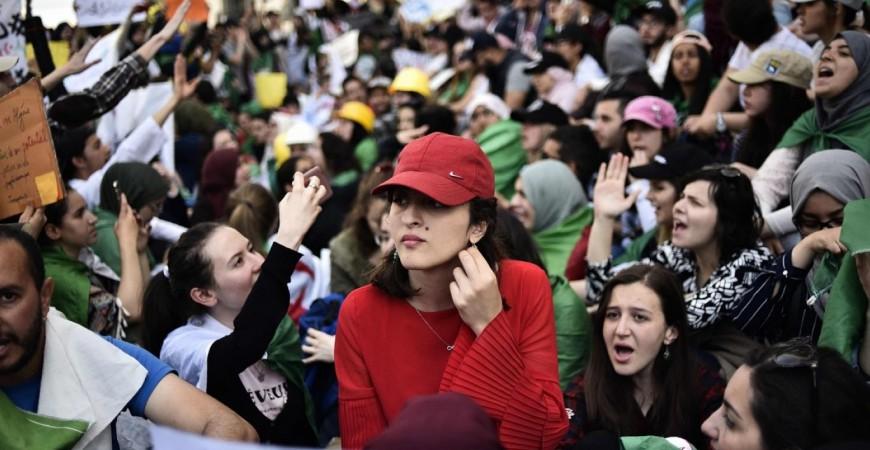 الجمعة الرمضانية الأولى للحراك في الجزائر أهمية خاصة (أ.ف.ب)