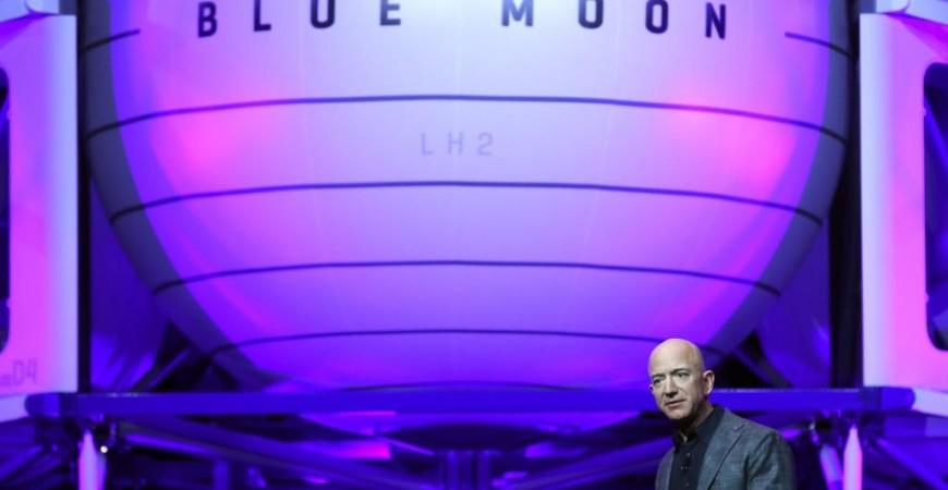 """بيزوس استثمر المليارات في شركته """"بلو أوريجن"""" التي تخطط لإطلاق أول رحلة في وقت لاحق هذا العام (الفرنسية)"""