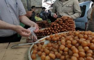 رمضان في دمشق الصغرى الفلسطينية