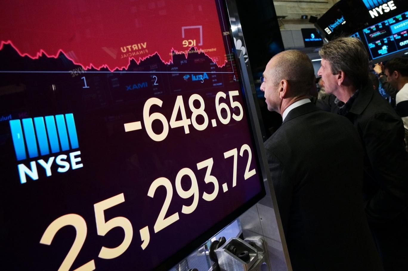 البورصة الأميركية تحت قصف الخسائر على وقع الحرب التجارية بين واشنطن وبكين