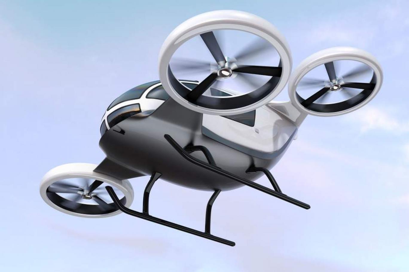 سيارات طائرة تحلِّق في أجواء المستقبل