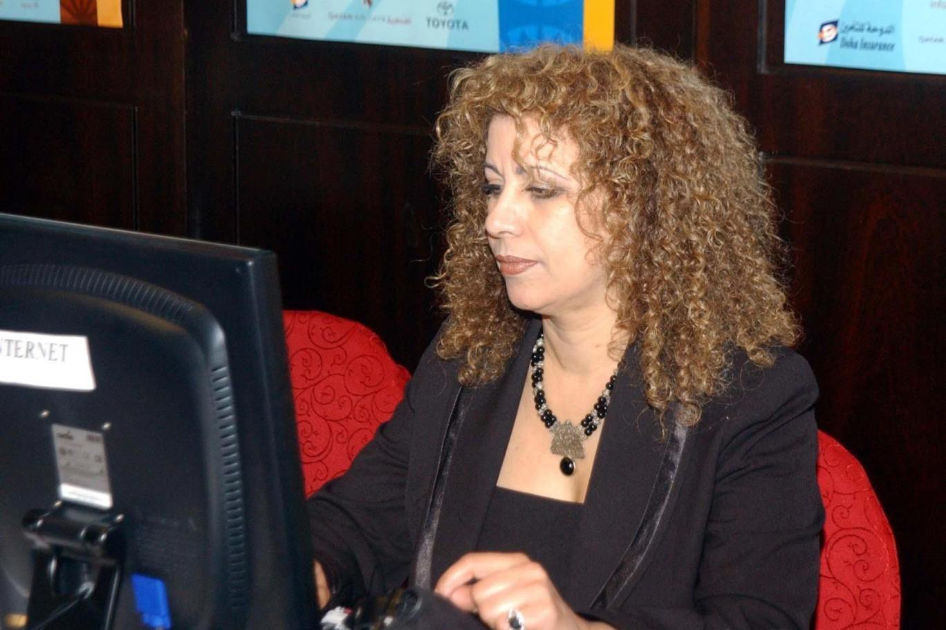 الكاتبة المغربية ربيعة ريحان (اندبندنت عربية)