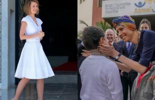 """أنباء عن تدهور صحة """"أسماء الأسد"""".. وابتنها تطلب الدعاء لها"""
