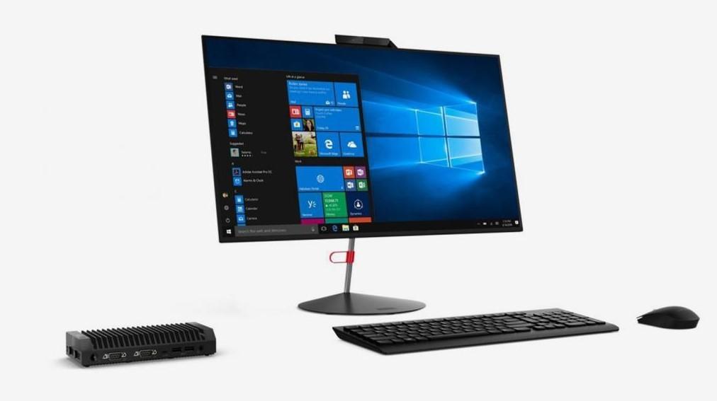 يزن نصف كيلوغرام.. لينوفو تكشف عن حاسوب مكتبي صغير للغاية