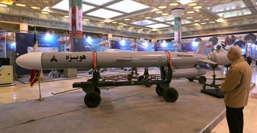 إيران أعلنت عن الاختبار الناجح لصاروخ كروز جديد يبلغ مداه أكثر من 1350 كيلومتراً (أ.ف.ب)