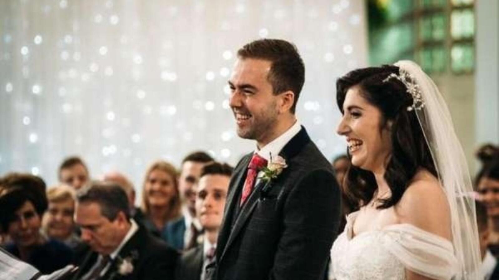 حفل زواج وجنازة لفتاة امريكية
