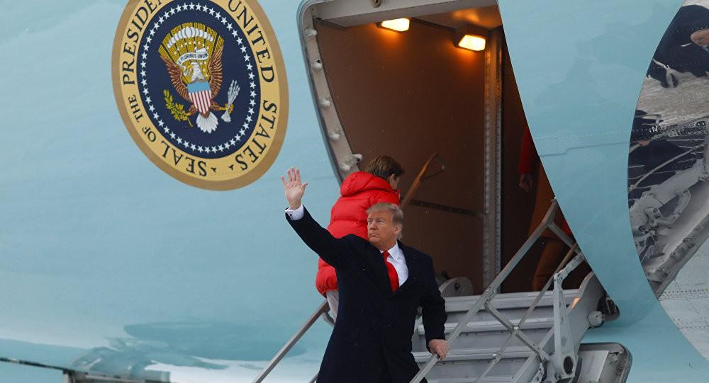 ترامب يخالف التقاليد الرئاسية الأمريكية من جديد(فيديو)