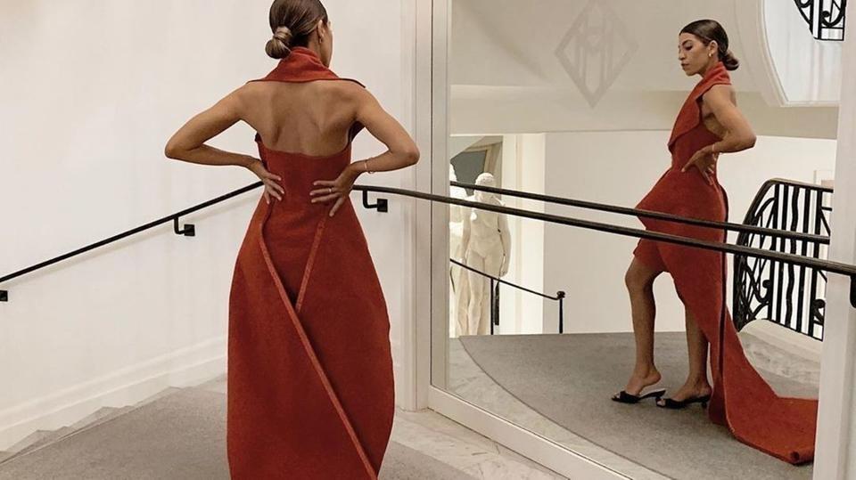 """البساط الأحمر يتحوّل إلى ثوب سهرة في """"كان"""""""