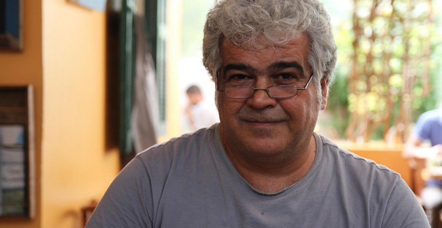 الروائي والسيناريست السوري خالد خليفة.