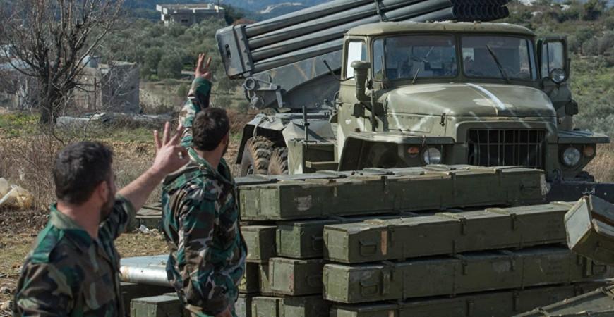 الجيش السوري يخوض معارك شرسة ضد المسلحين في ريف حماة