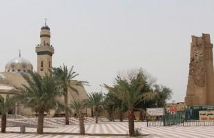 بالصور.. مسجد البصرة القديم مقصد العراقيين في رمضان