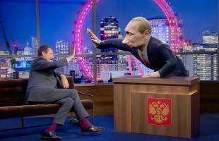 """بعيدًا عن السياسة.. """"بوتين 3D"""" يقدم برنامجًا كوميديًا على BBC قريبًا"""