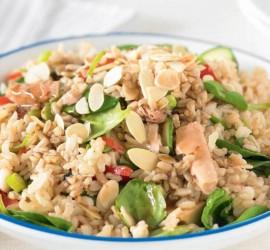 طريقة سهلة وسريعة لتحضير الأرز بالتونة: عنوان التميّز على مائدة رمضان