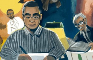 أحمد خالد توفيق... غوغل يحتفي بميلاد الأديب العرّاب