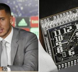 """ساعة يد تخطف الأنظار من """"هازارد"""".. وسعرها يتجاوز الـ60 ألف يورو"""