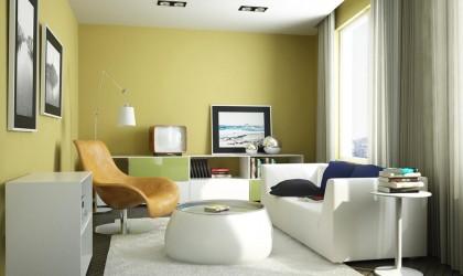 أهمية اللون الأصفر في الديكور الداخلي للمنزل