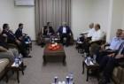 قيادة حركة حماس تستقبل وفد المخابرات المصرية في غزة