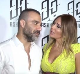 ما سبب انزعاج جو أشقر من قبلة زوجته أمام الكاميرات؟