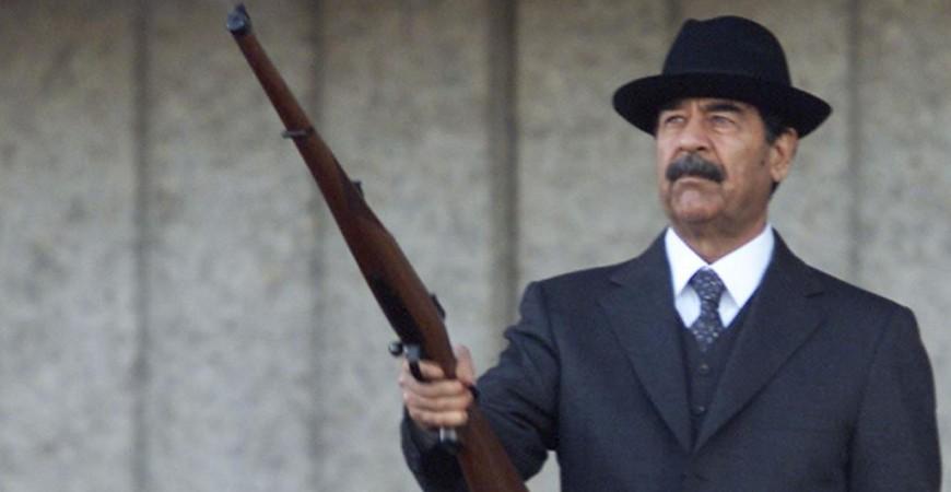 اسم صدام يثير جدلا عبر مواقع التواصل (رويترز)