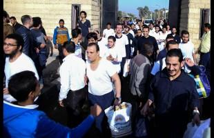 العفو عن مئات السجناء المصريين بمناسبة عيد الاضحى وثورة يوليو
