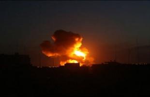 طائرات الاحتلال تستهدف 15 موقع في غزة