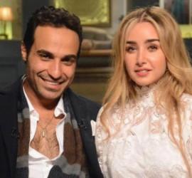 أحمد فهمي و هنا الزاهد يحتفلان بزفافهما في حفل أسطوري (صور)