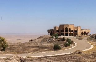 شاهد.. قصور صدام بين آثار الجبار بمكحول تمزج الحاضر بالماضي