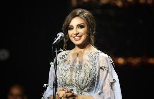 أنغام تتعرض للإغماء في حفلها بالسعودية