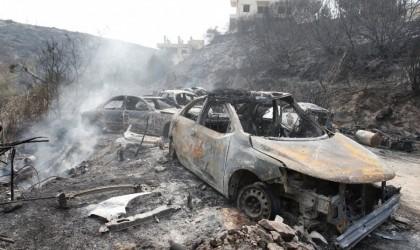 بالصور.. الحرائق في لبنان: أضرار جسيمة ومناطق منكوبة.. بعدسة 'رويترز'
