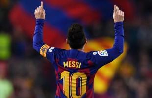 ميسي يقود برشلونة لاكتساح بلد الوليد