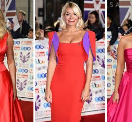 شاهدي ما ارتدته النجمات والمشاهير على السجادة الحمراء في مهرجان Pride of Britain Awards (بالصور)