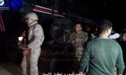 تركيا تسلم سوريا 18 جنديا أسرتهم في معارك رأس العين