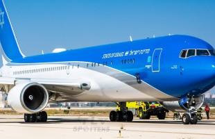 طائرة نتنياهو السرية تتعطل في اول رحلة تجريبية!