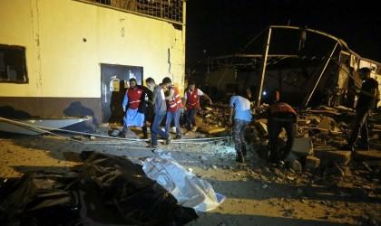 تقرير أممي يلمح إلى دور الإمارات بقصف مركز لاجئين بليبيا
