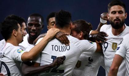 فرنسا تتجاوز ألبانيا بهدفي توليسو وغريزمان
