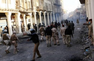 العراق: 5 قتلى وعشرات الاصابات في مواجهات بين الأمن ومحتجين