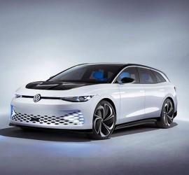 فولكس فاجن تكشف عن سيارتها الكهربائية الجديدة ID. Space Vizzion